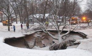 Grand Rapids Sinkhole
