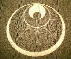 rainbow crop circle
