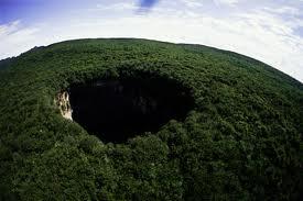 sinkhole large