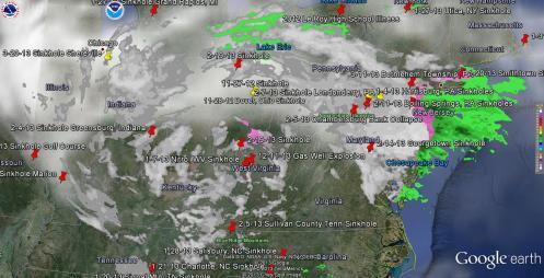 3-25-13 Weather Eye of Low Pressure