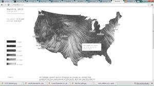 3-8-13 Wind Map