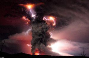 volcano ball lightning