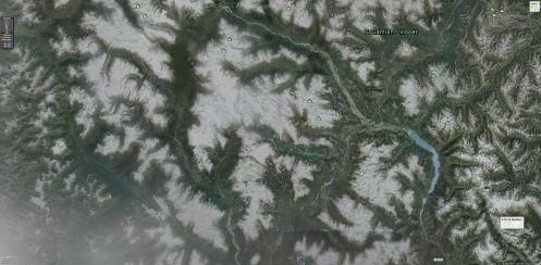 Earth Brane Dendritic Matrix