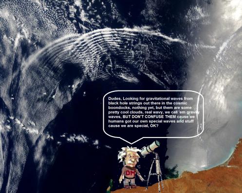 Einstein Gravity Wave