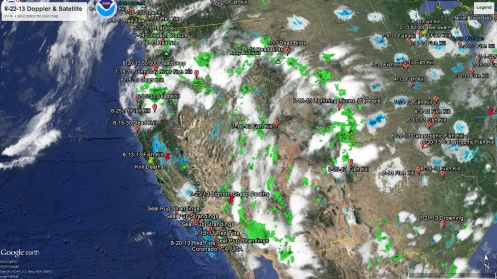 8-22-13 West Coast Weather