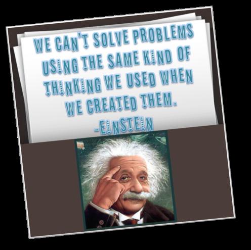 Einstein-Quote-Solve-Problems