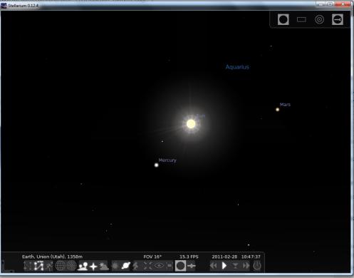 2-28-11 Mercury Position