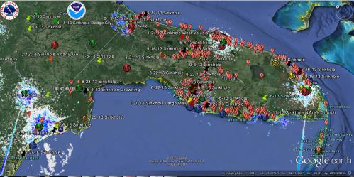 Florida 2013 Sinkholes