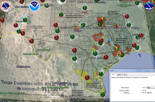 West Nile Texas