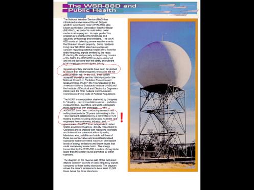 Radar Safety