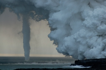 Volocano Waterspout