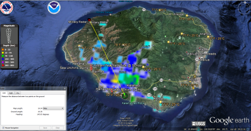 Kauai Doppler Illness