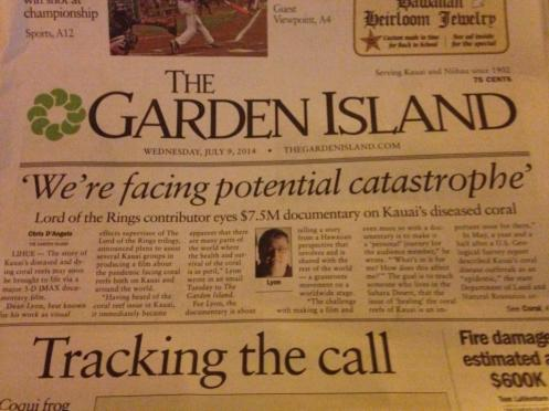 The Garden Island Article