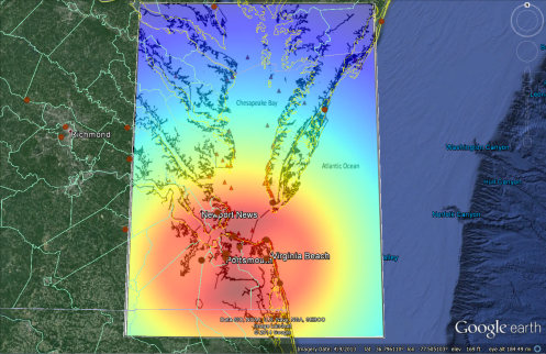chesapeake radar power