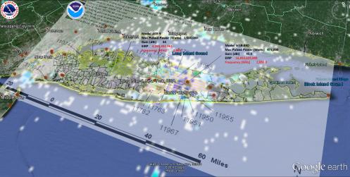 long island radiation reflection