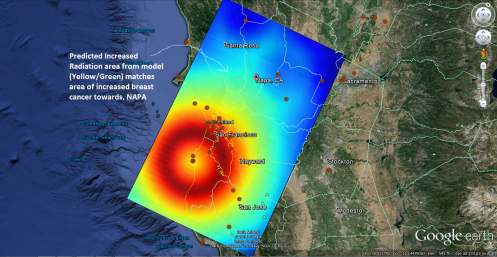 San Fran Breast Cancer Cluster Radar Profile