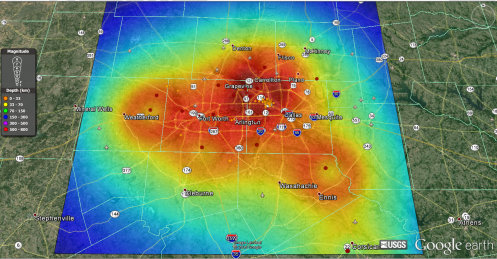 Dallas Radar Power Profile