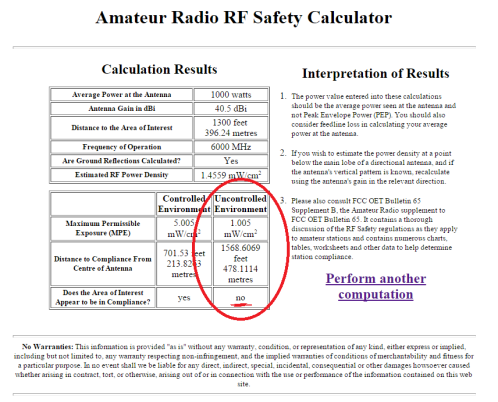 rf antenna power