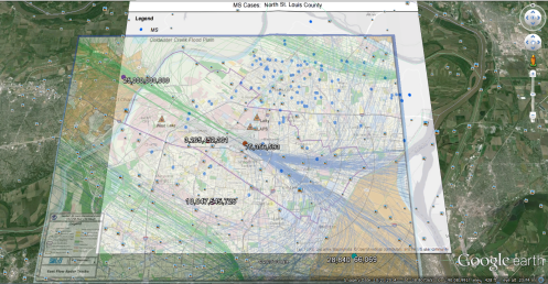 2015 CWK MS Radar Flight Paths