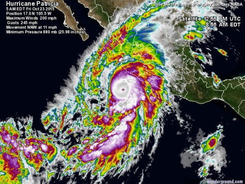 Hurricane Patrice
