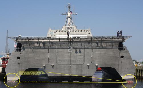 Warship Corrosion