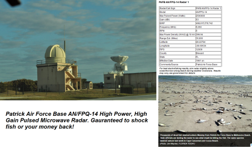 PAFB AN-FPQ-14 Radar