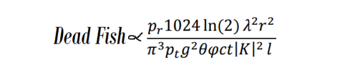Dead Fish Equation