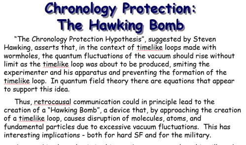 Hawking Bomb